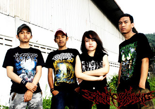 Sangkuriang band death metal bandung female vocal foto wallpaper