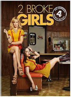 2 Broke Girls Complete Fourth Season DVD Giveaway. Ends 8/27