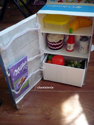 Игрушка холодильник своими руками 30