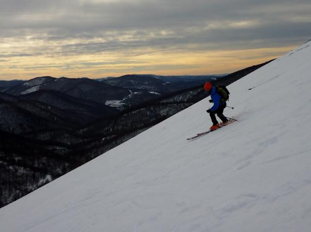 Esqui de montaña:Valle de Baztan-Monte Saioa (1419m)