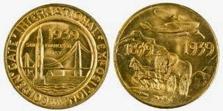 Coins GGI San Francisco 1939