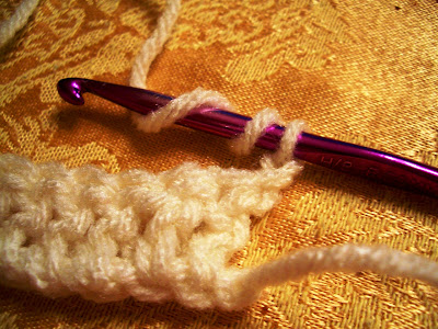 Crochet parfait fptr front post triple or treble crochet ccuart