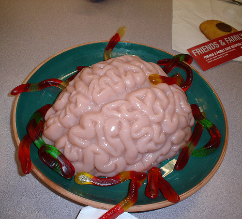 Brain Jello Molds