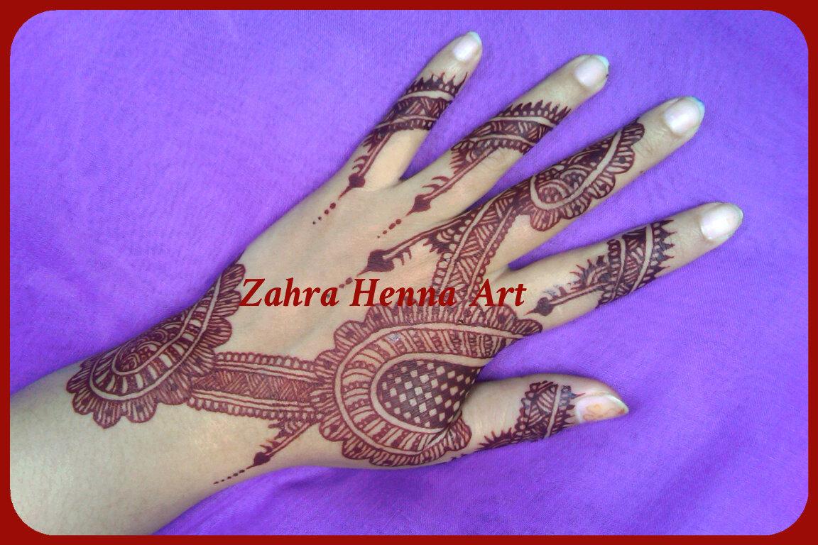 Zahra Henna Art Gambar Henna Wedding Pengantin By Zahra Henna
