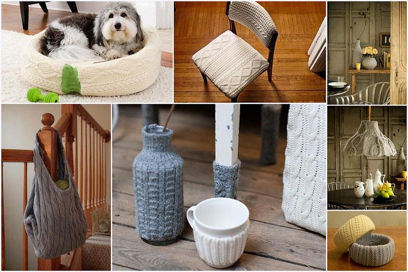 Husmeando por la red 30 ideas para reciclar viejos su teres - Reciclar restos de lana ...