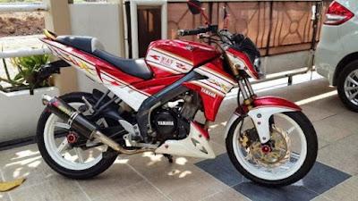 modifikasi new vixion red white