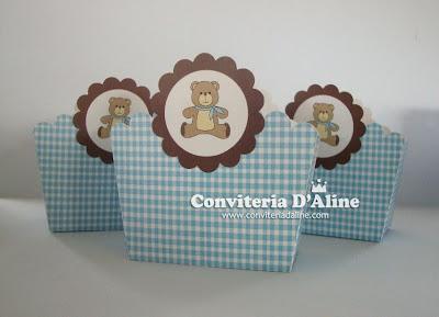 decoração festa ursinho
