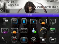 PrinceOfPersiaBlackberryTheme2 Prince of Persia 6.0 for Blackberry 9300 Curve 3G
