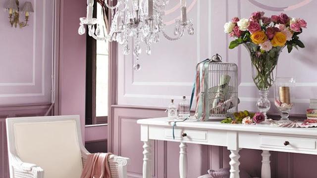 Chambre romantique shabby chic