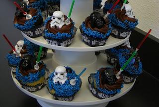 Cupcakes de Star Wars