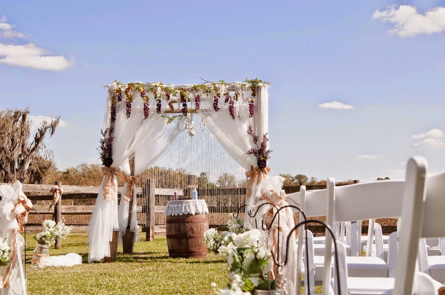 Ideas para Decorar una Boda en el Campo.