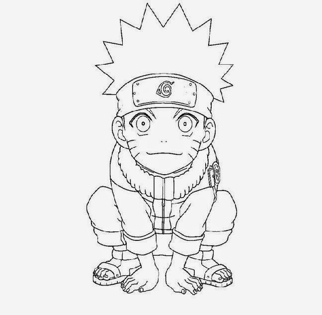 naruto kyuubi mode coloring coloring pages