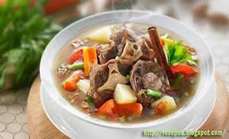 Resep Sahur Ramadhan Sup Sayur Italia