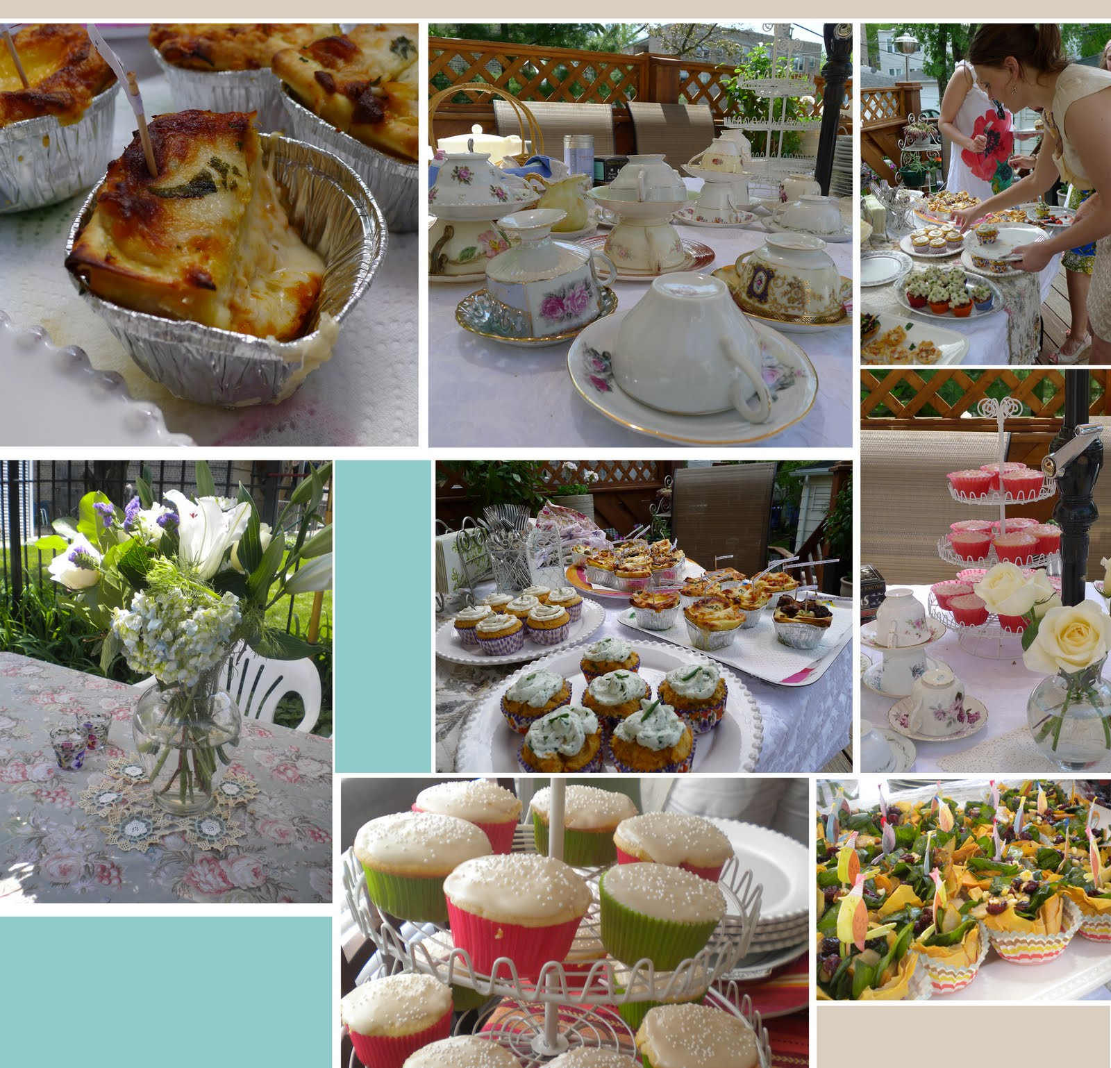 entertaining how to throw a shabby chic garden party on a budget