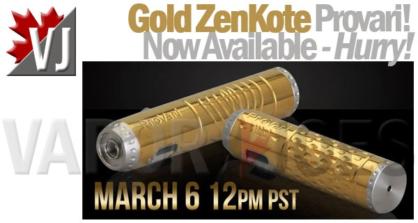 Provari, Now available in GOLD ZENKOTE!