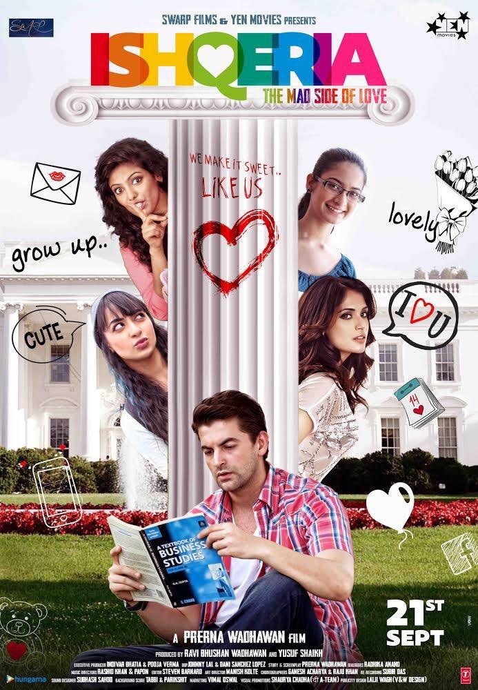 Ishqeria (2018) Hindi Movie HDRip   720p   480p