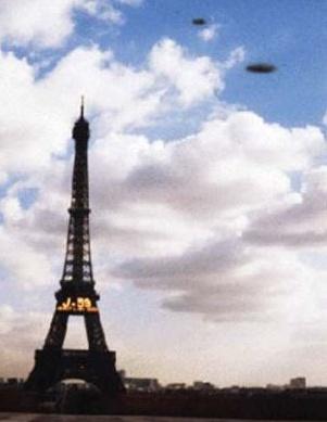 OVNIS SOBRE PARIS
