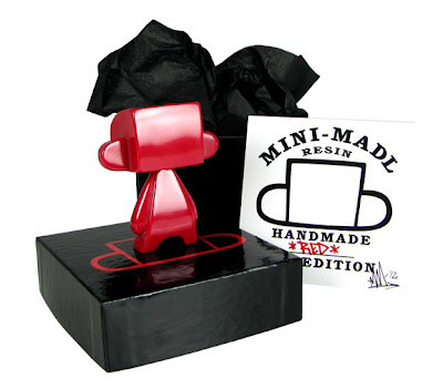 Red Edition Mini Mad'l 3 Inch Resin Figure by MAD