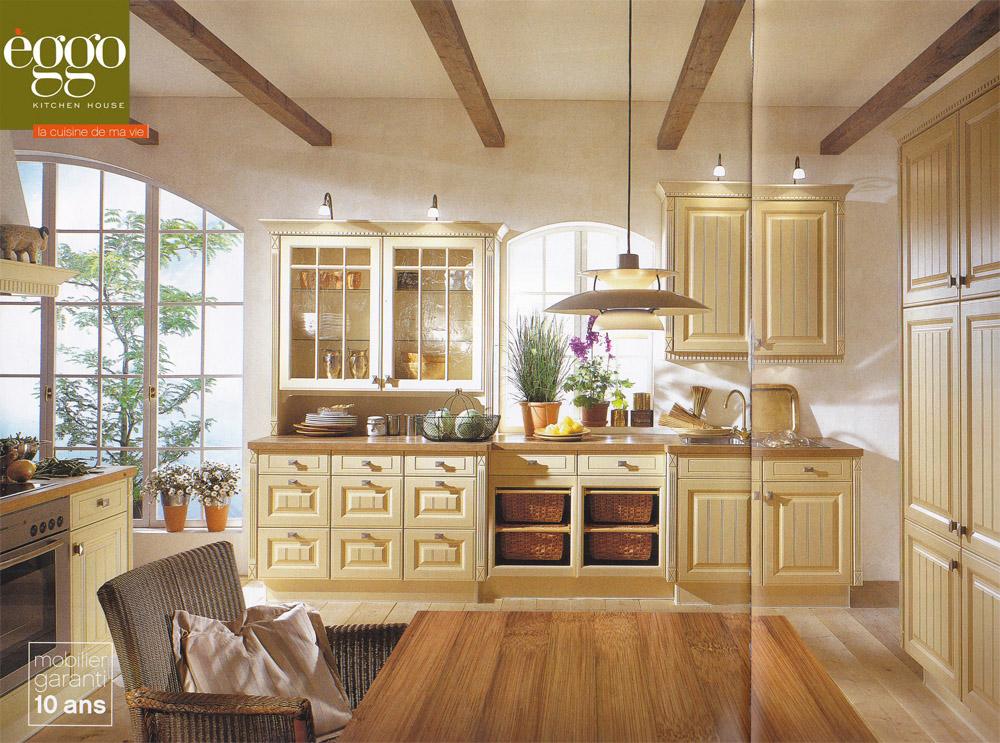 construire en bois au pays de la pierre bleue: choix d'une cuisine