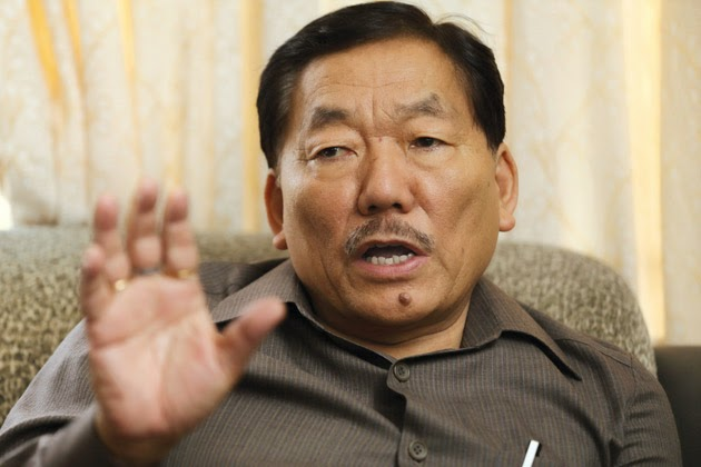 Sikkim CM Pawan Chamling expressed condolences on Subhas Ghisingh death
