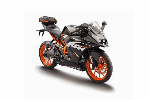 Foto Motor KTM RC200