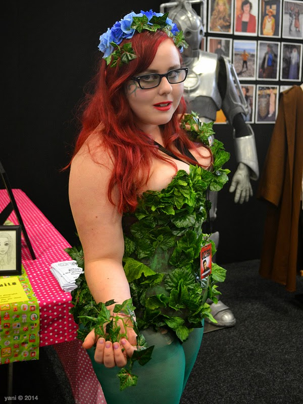 oz comic-con adelaide - hipster poison ivy