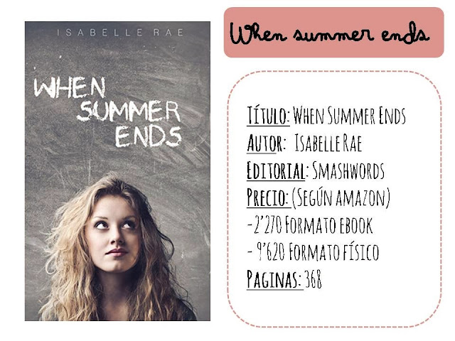 Reseña: When Summer ends