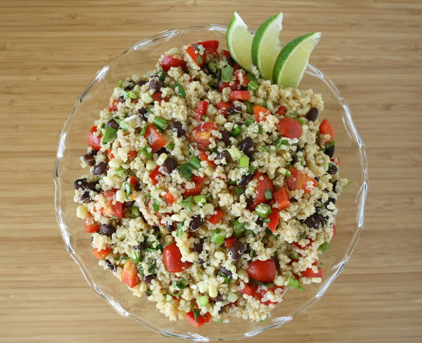The Garden Grazer: Mexican Quinoa Salad