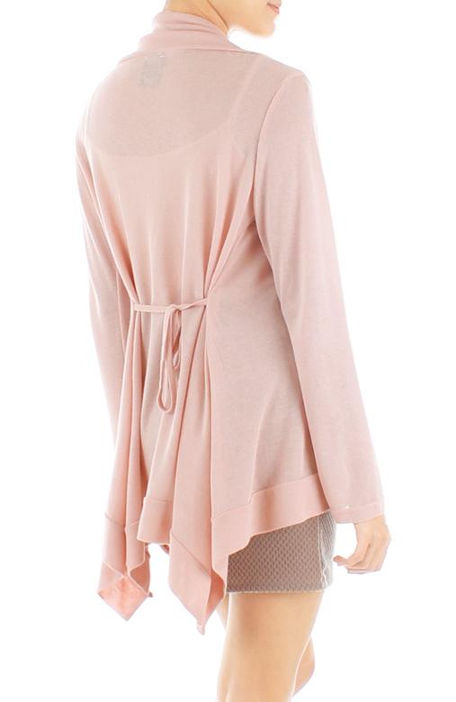 Wanderer Fine Knit Cardi – Ballet Pink