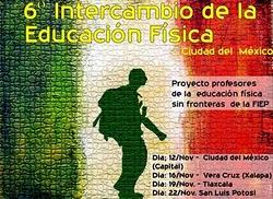 PROFESSORES DE EDUCAÇÃO FÍSICA SEM FRONTEIRAS DA FIEP - BRASIL.