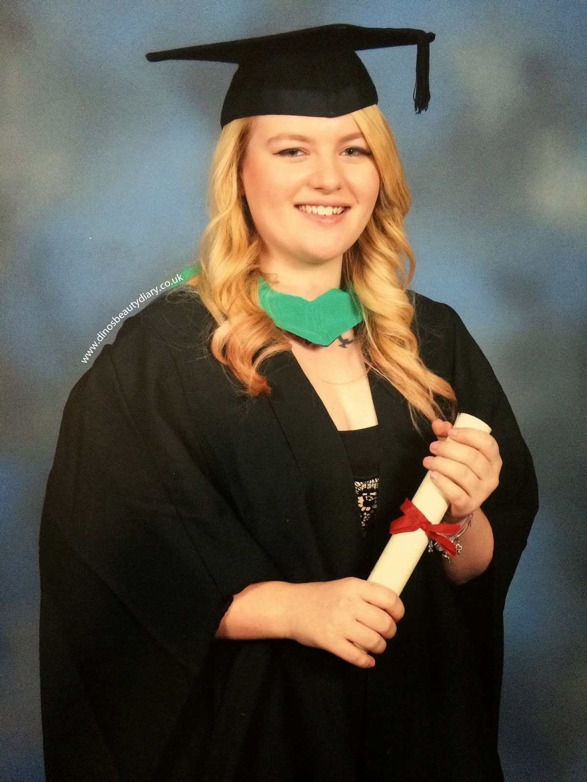 Dinos Beauty Diary - Graduation 29/11/14 - Nottingham Trent University - Nottingham Law School