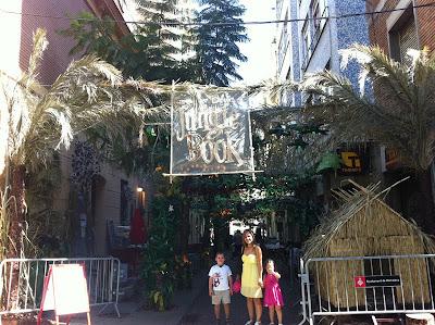 The Family Outside Jungle Book - Barcelona Sights blog