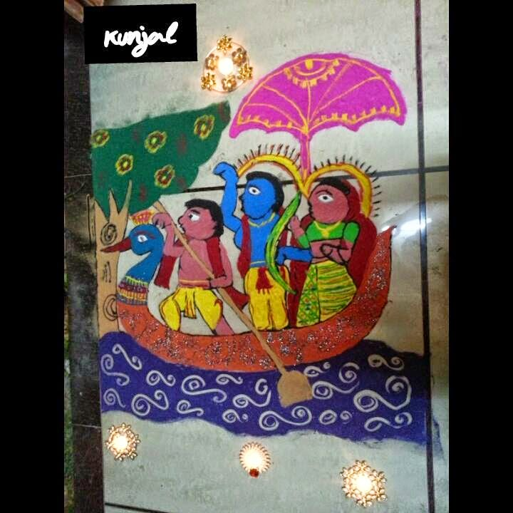 Rangoli Diwali Collection 2014 11
