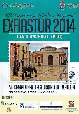 Cartel Exfiastur 2014, Trascorrales Oviedo