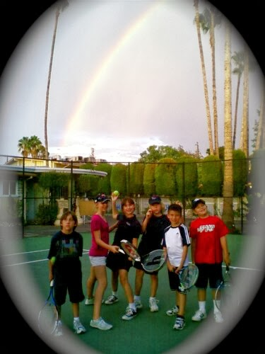 Good Luck Rainbow Pic! At HHTS