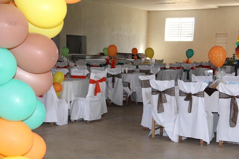 Salão de Festas Decoração com tema A Turma do Chaves