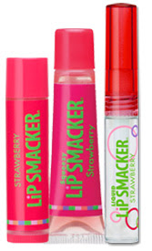 Bonne Bell, Bonne Bell Lip Smackers, Bonne Bell Lip Smacker Original & Best Trio Collection, Bonne Bell Strawberry Lip Smacker, lipgloss, lip balm, lip gloss, gloss, balm, lips