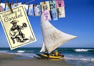 Cartão-Postal em comemoração ao ano do Brasil na França, em 2005