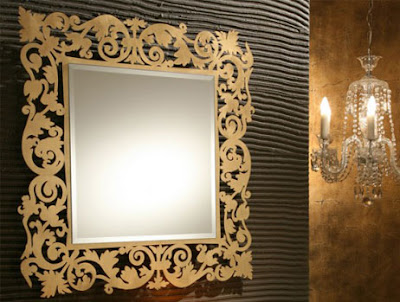 Avangarde+alt%C4%B1n+yald%C4%B1zl%C4%B1+duvar+aynas%C4%B1+modelleri Dekoratif Duvar Ayna Modelleri