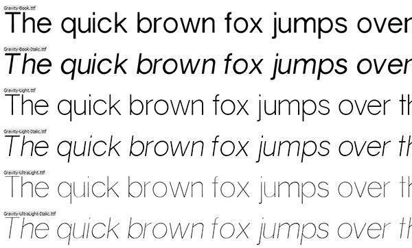grey 34 Tane Güzel ve Ücretsiz İnce Font Arşivi