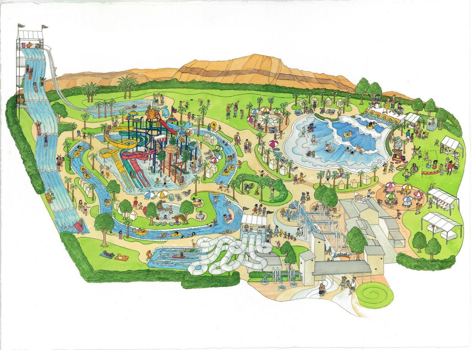 Fabulous Las Vegas Water Park 1600 x 1181 · 541 kB · jpeg