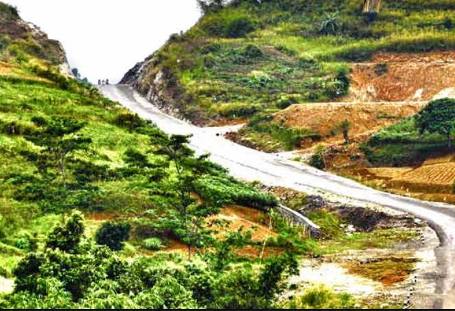 pembangunan jalur puncak 2