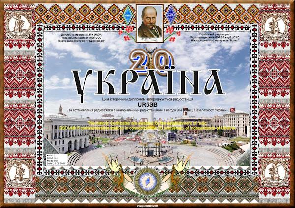 Двадцать лет Независимости Украины
