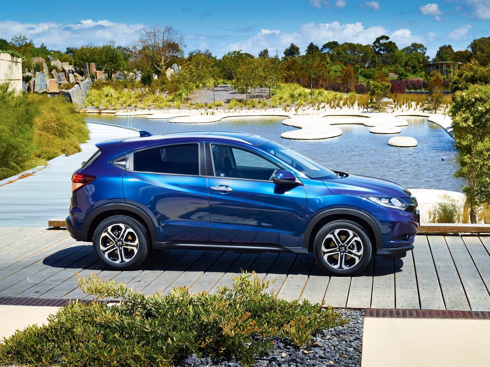 Honda HR-V 2016 EXL Azul