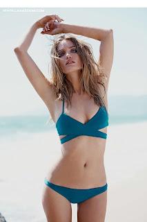 عارضة الأزياء ناتالي موريس في صور ساخنة لمجلة Free People  صيف 2015