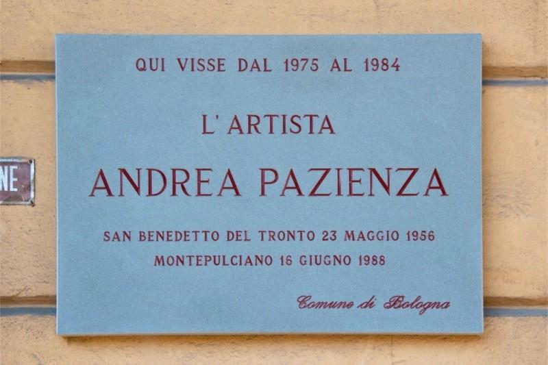 Bologna dedica una targa ad Andrea Pazienza