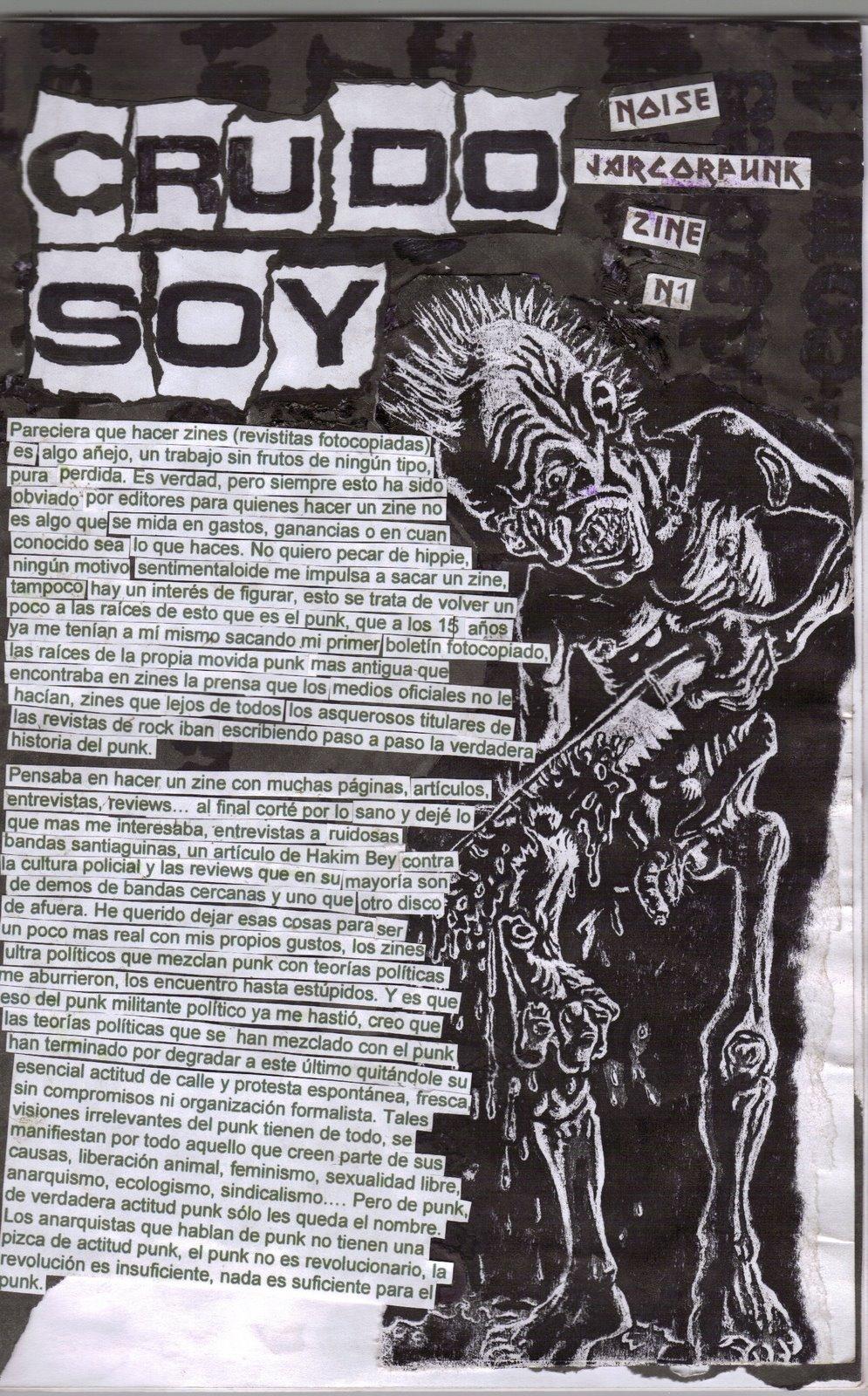 CRUDO SOY #1/2. Verano 2009