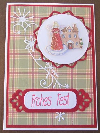 Bastelmaus ist kreativ weihnachtskarten 2012 8 for Weihnachtskarten kreativ