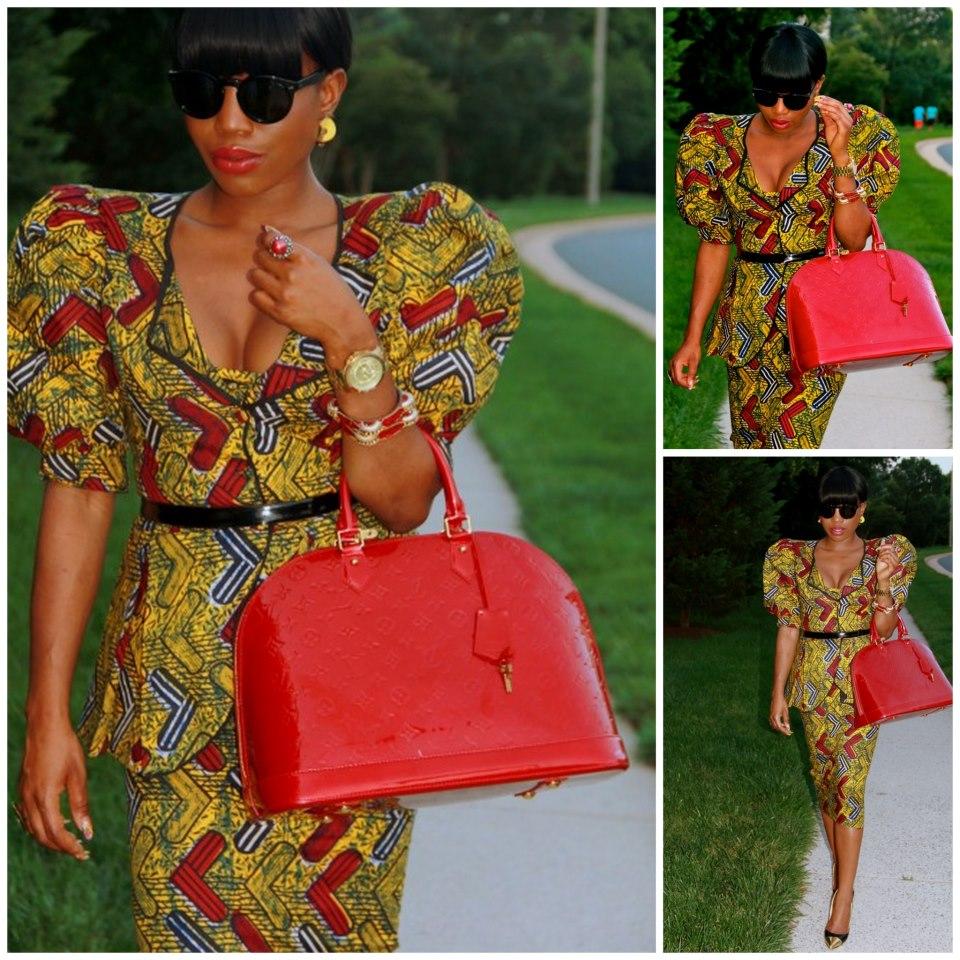 Zambian Chitenge Dresses Designs