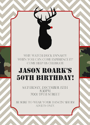 to add a little fun what a fun party this will be happy 50th jason